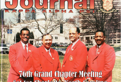 Charlotte Alumni Hosts 76th Grand Chapter Meeting